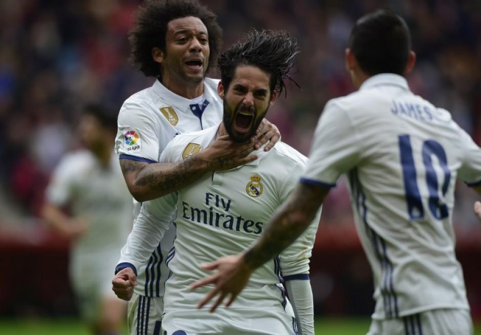 Isco se vistió de héroe al marcar el doblete que le dio la victoria a su equipo. (Foto: AFP)