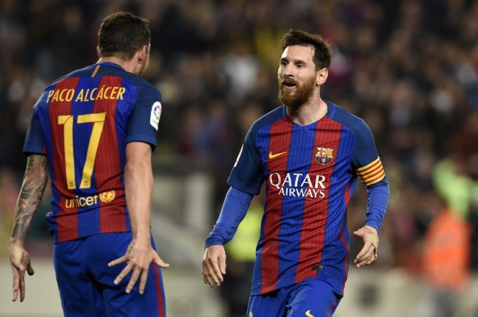 Lionel Messi contribuyó con dos goles a la causa. (Foto: AFP)