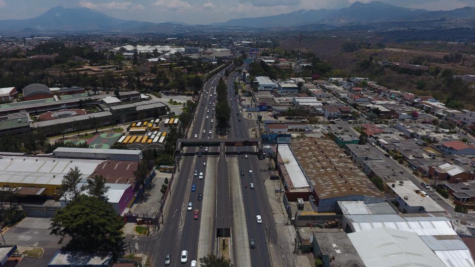 El departamento Tránsito de la PNC monitorea el retorno hacia la capital. (Foto: Tránsito PNC)