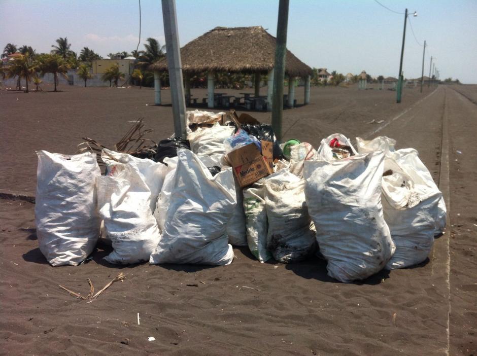 La basura fue recogida durante nueve días de intensa actividad en la playa. (Foto: Ecoplayas)