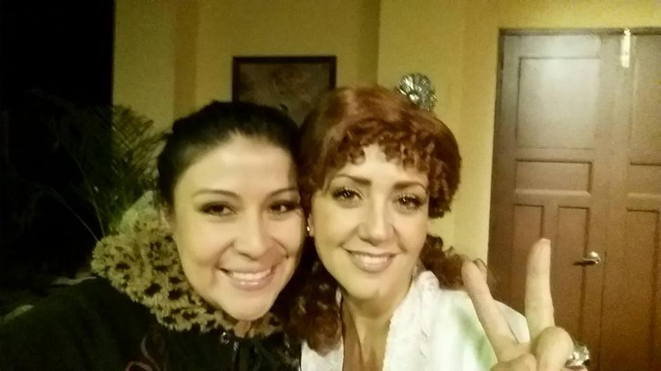 Es guatemalteca y trabaja en Televisa. (Foto: Beatriz Moreno)