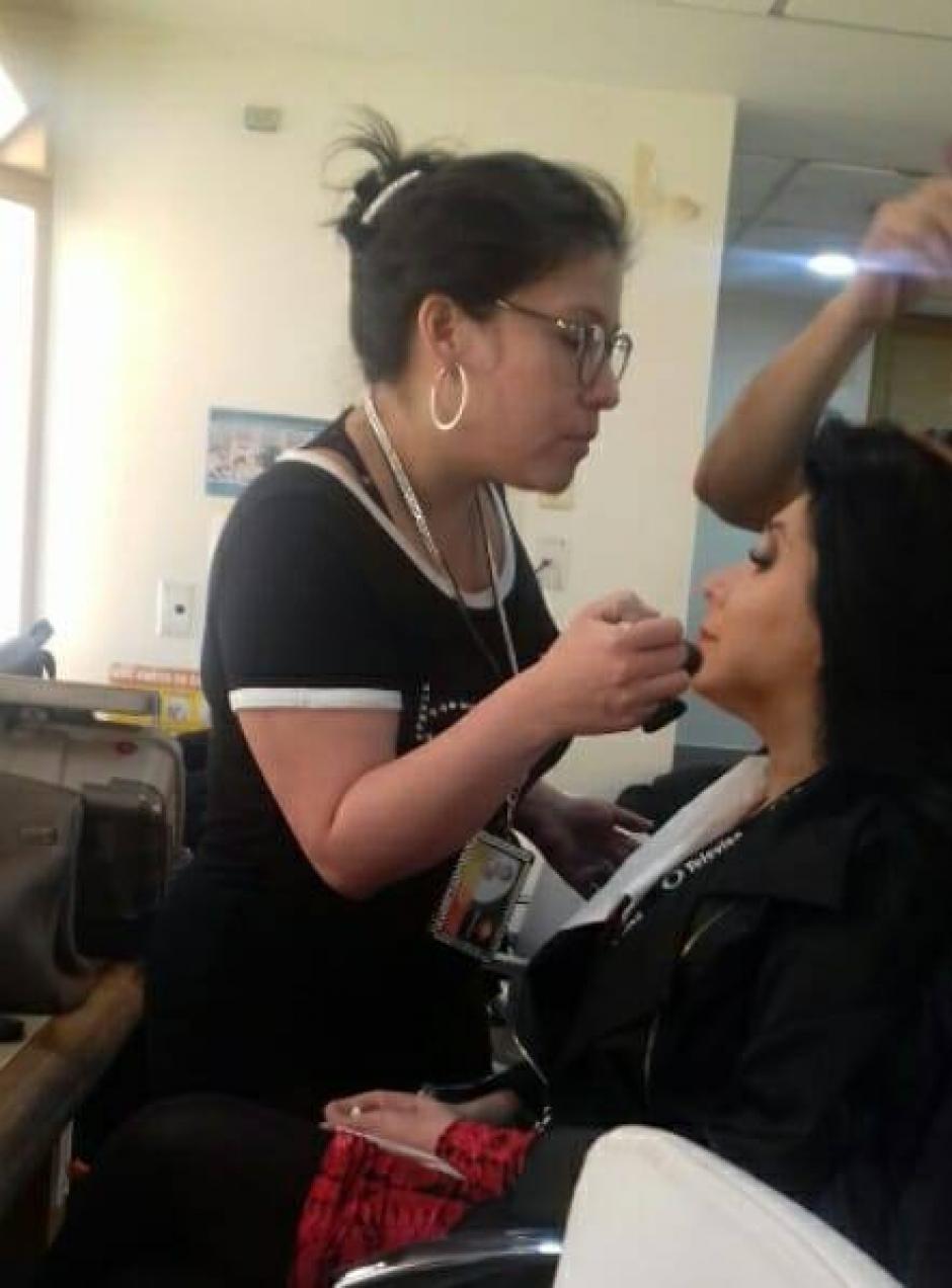 Moreno ha maquillado a los famosos de México. (Foto: Beatriz Moreno)