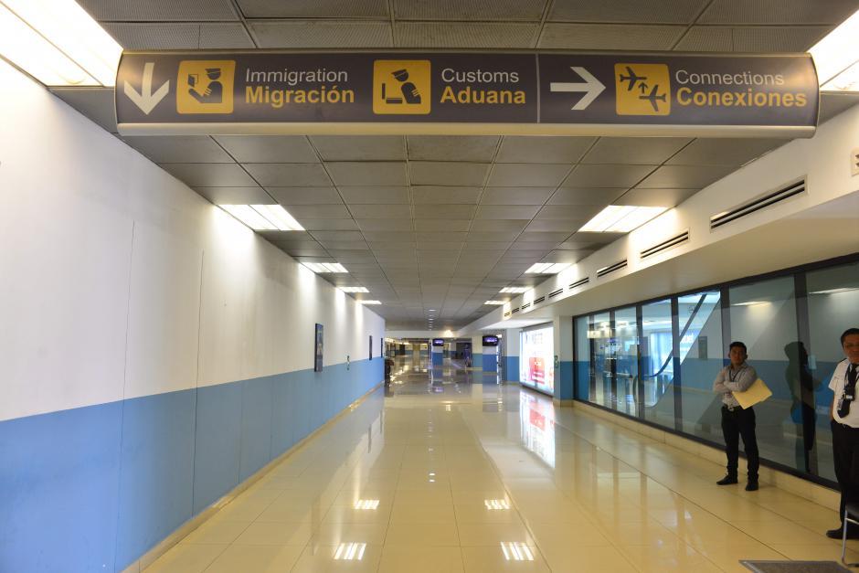 El salón de recepción para niños y adolescentes migrantes no acompañados estará ubicado en el área de protocolo del aeropuerto. (Foto: Jesús Alfonso/Soy502)
