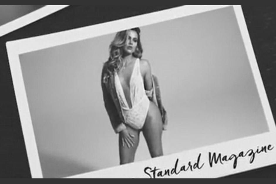 La bella Khloé vuelve a encender las redes con sensuales fotos. (Foto: Standard Magazine)