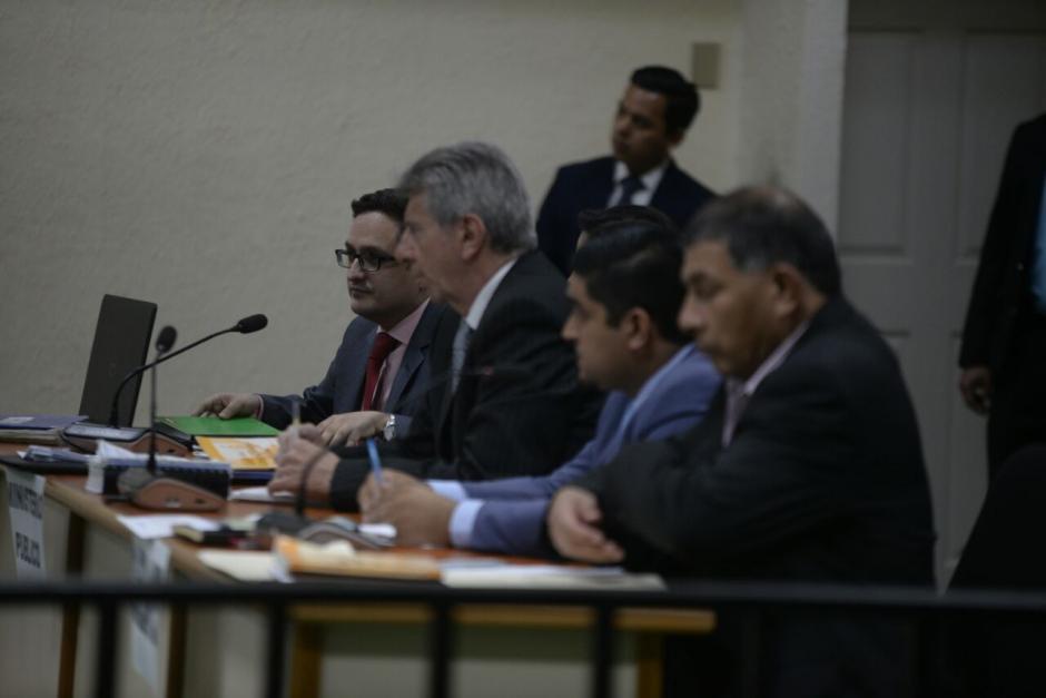 La Fiscalía presentó sus argumentos ante la Sala de Mayor Riesgo. (Foto: Wilder López/Soy502)