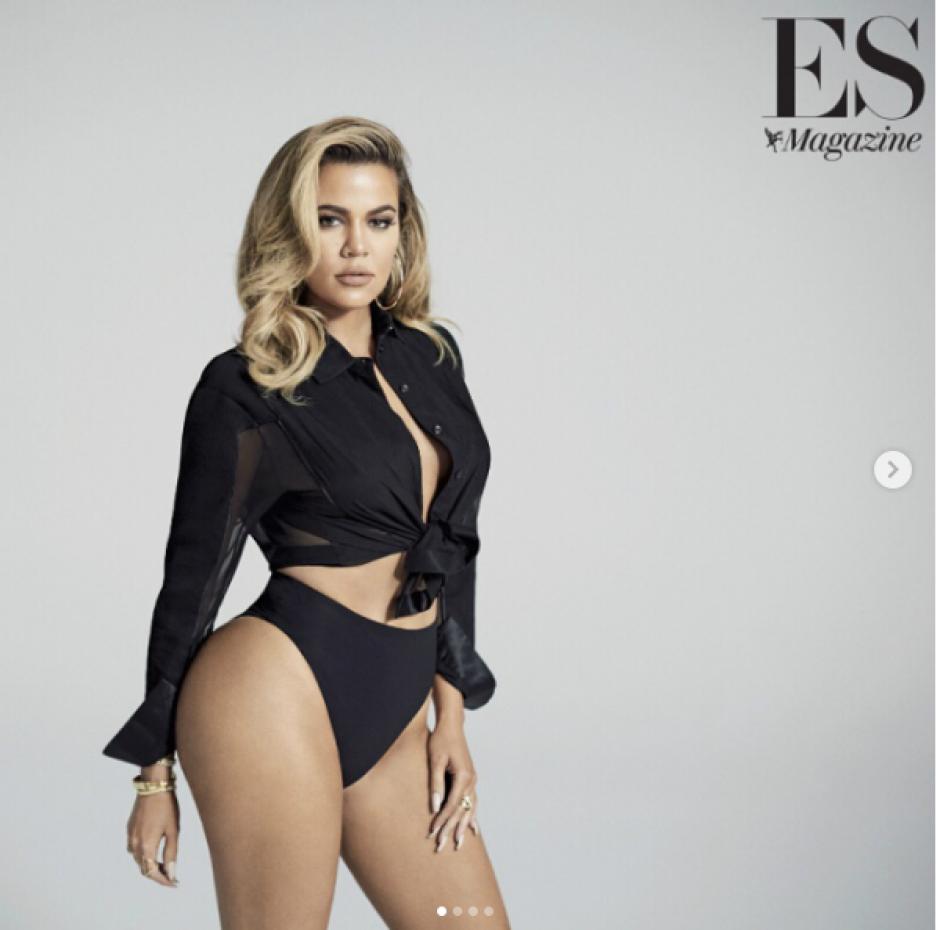 Khloé Kardashian se luce para publicación de revista. (Foto: Evening Standard Magazine)