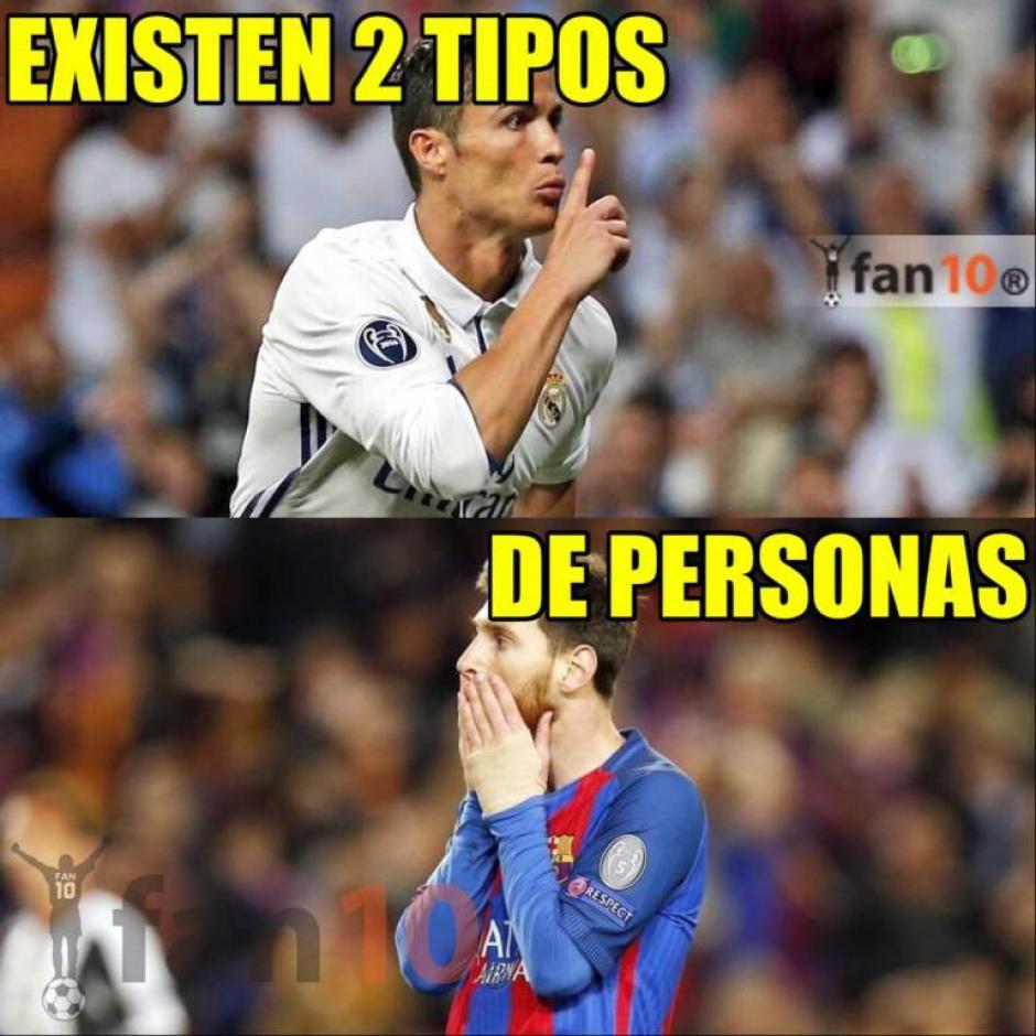Messi y Cristiano no pueden faltar en los memes. (Foto: Twitter)
