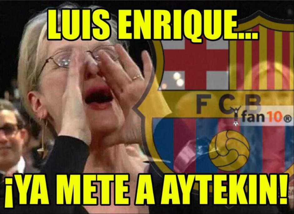 Y pedían a gritos al árbitro del PSG. (Foto: Twitter)