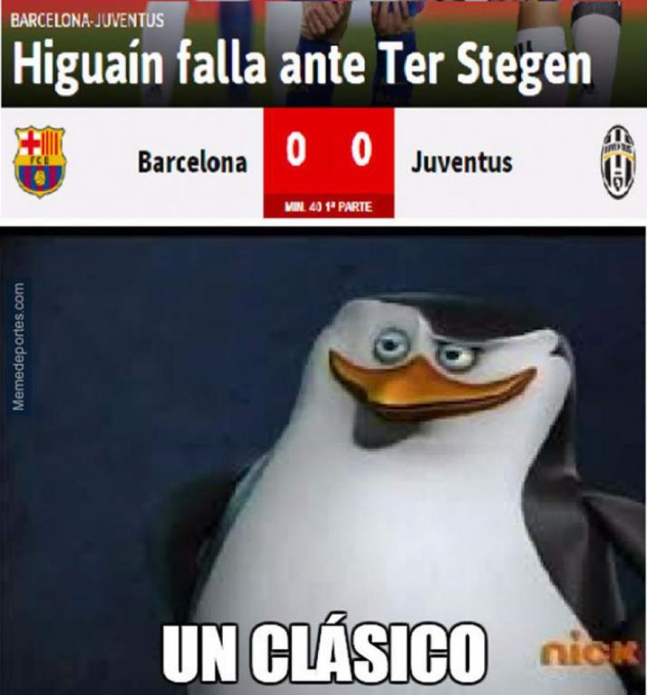 Higuaín y Barcelona no podían faltar en los memes. (Foto: Twitter)