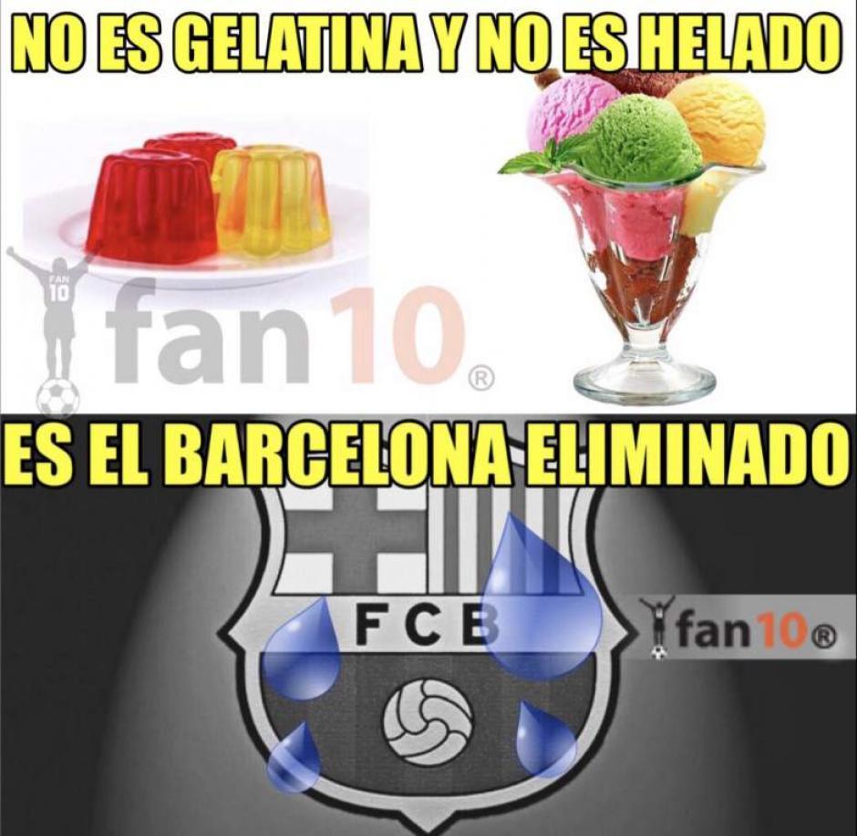 El Barcelona está eliminado. (Foto: Twitter)