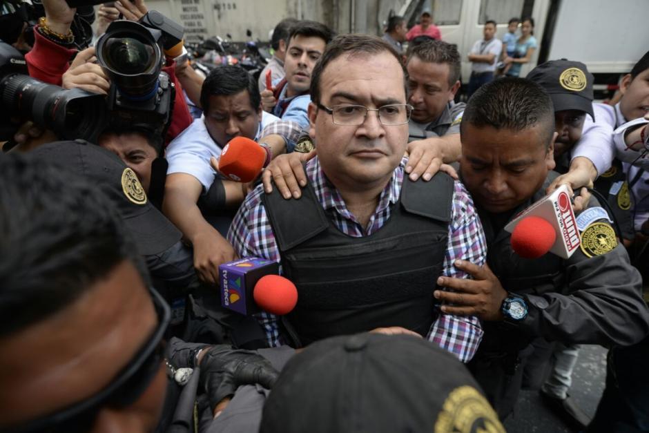 El exfuncionario mexicano no ofreció declaraciones. (Foto: Wilder López/Soy502)