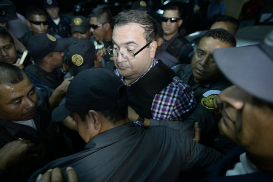 Duarte fue detenido en Guatemala bajo pedido de México. (Foto: Wilder López/Soy502)