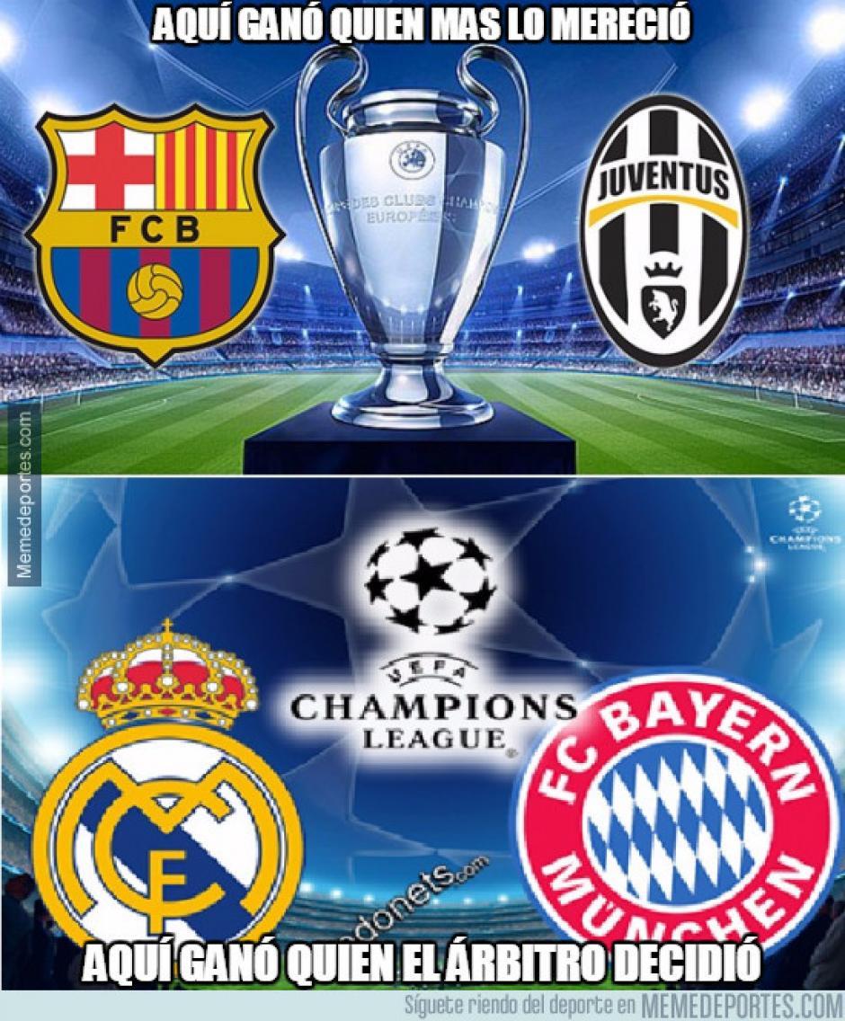 Las series en Champions. (Foto: Twitter)