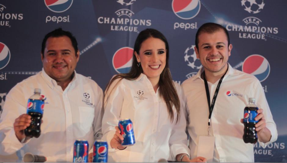 La promoción de Pepsi que inicia este 20 de abril incluye viajes para la edición 2016-2017 de la UEFA Champions League. (Foto: Luis Barrios/Soy502)