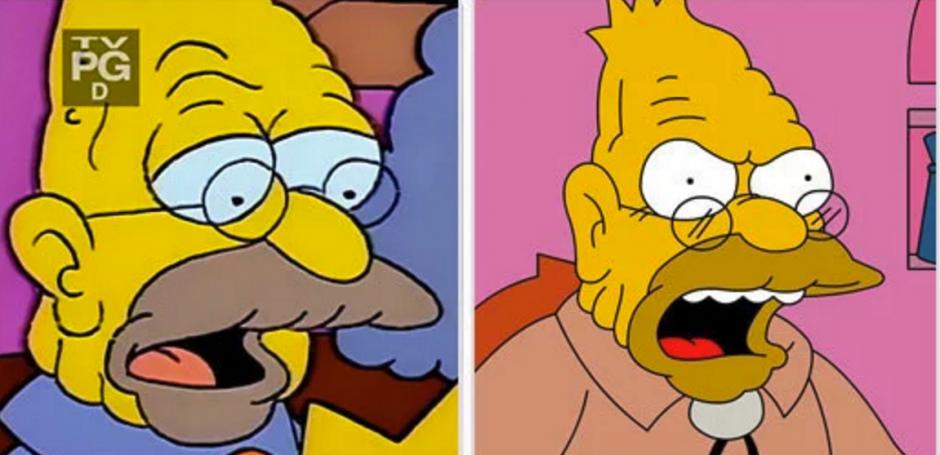 Y qué decir del abuelo de los Simpsons. (Foto: buzzfeed.com)