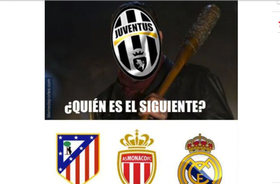 La Juventus jugará contra el Mónaco. (Foto: MemeDeportes)