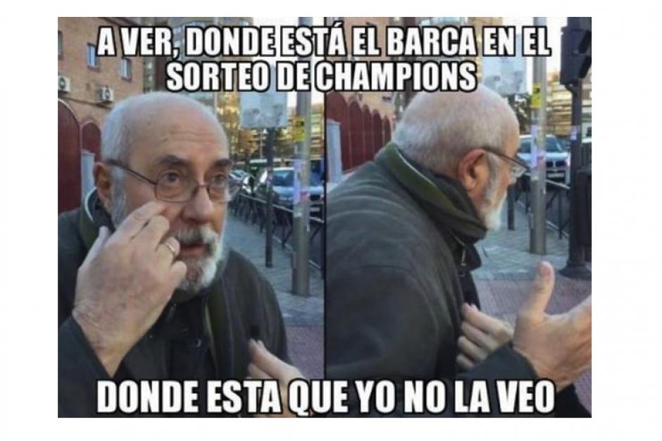 Las miradas se centraron en el Barcelona. (Foto: MemeDeportes)