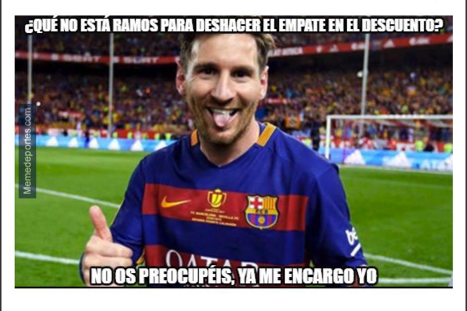 Lionel Messi anotó dos tantos para el triunfo catalán. (Foto: MemeDeportes)