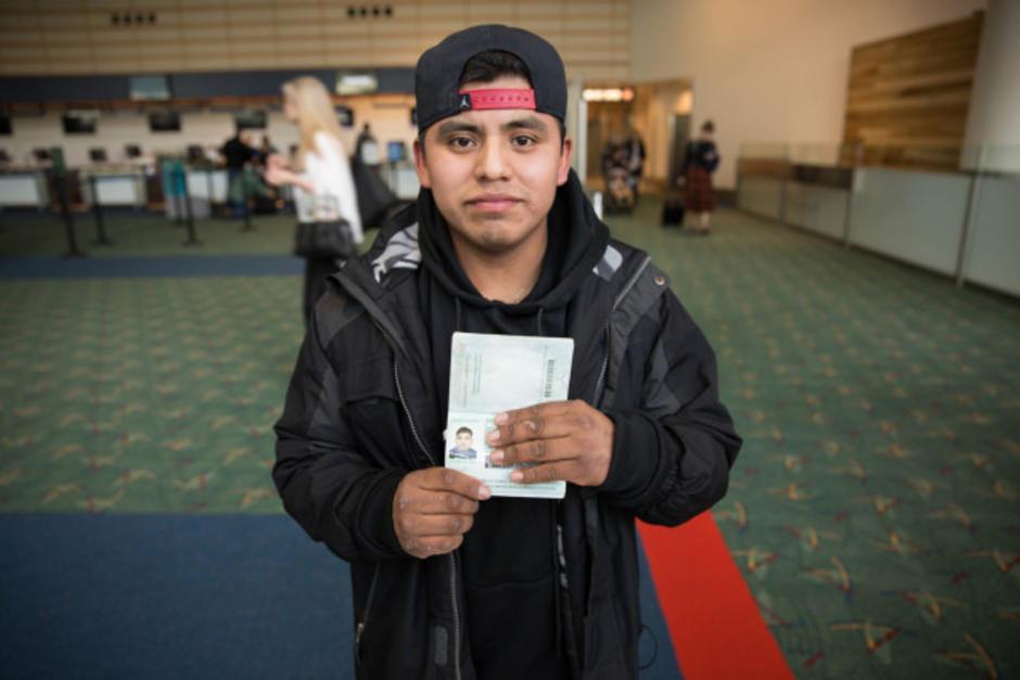 Ignacio García-Pablo, de 21 años de edad, está listo para regresar a Guatemala. (Foto: opb.org)