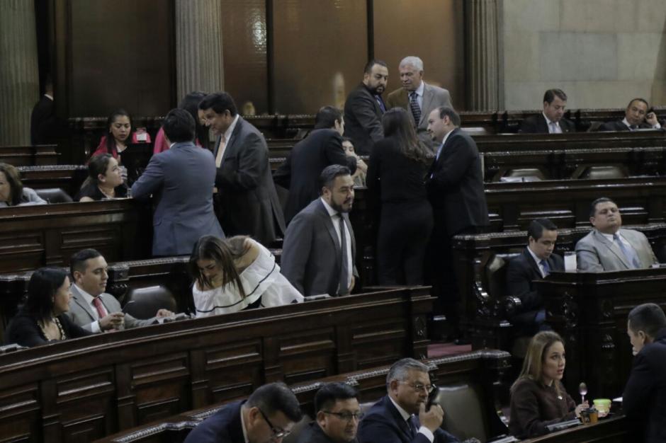 Miembros del FCN intentaron modificar el estado de calamidad, pero los demás legisladores no los respaldaron. (Foto: Alejandro Balán/Soy502)
