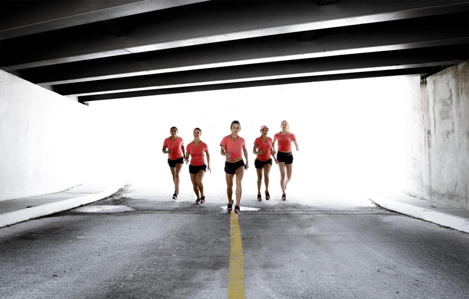 Las nuevas UltraBOOST X son las zapatillas ideales para las runners. (Foto: George Rojas/Soy502)