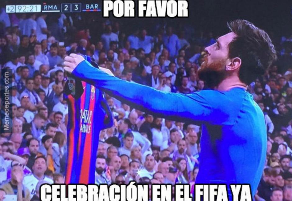 """Incluso los fanáticos de """"Fifa"""" en PlayStation pidieron una actualización para incluir esta celebración. (Foto: Twitter)"""