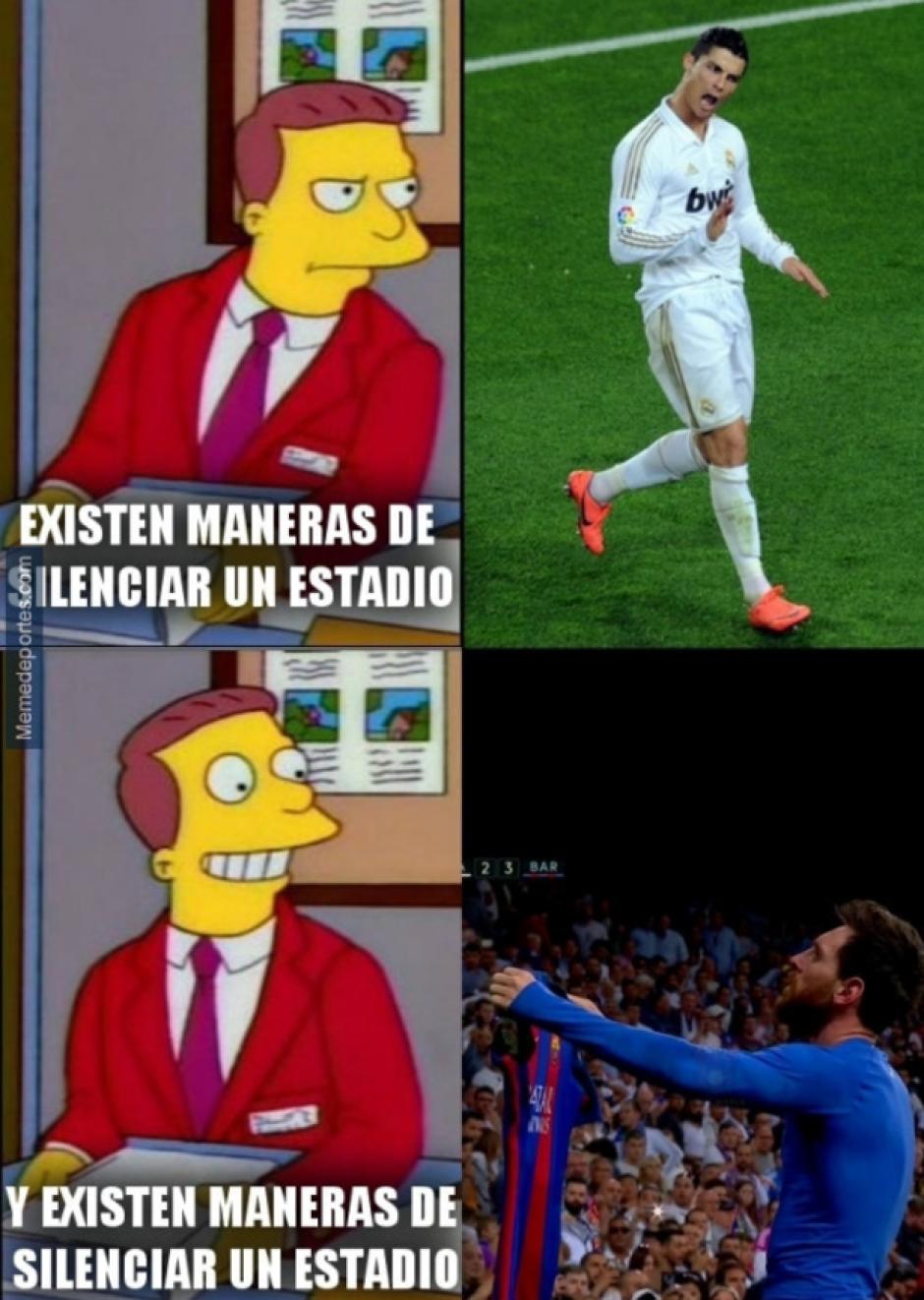 Las burlas en las redes mezclan a Cristiano Ronaldo y a Messi. (Foto: Twitter)