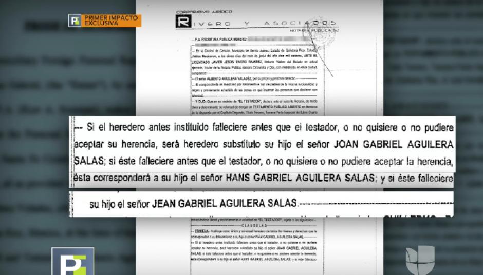 Juan Gabriel define a su heredero universal. (Foto: captura de video)