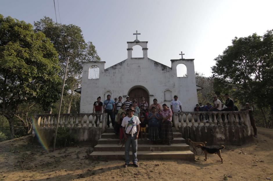 La comunidad de Caserío La Escopeta es la más cercana al proyecto. (Foto: Alejandro Balán/Soy502)