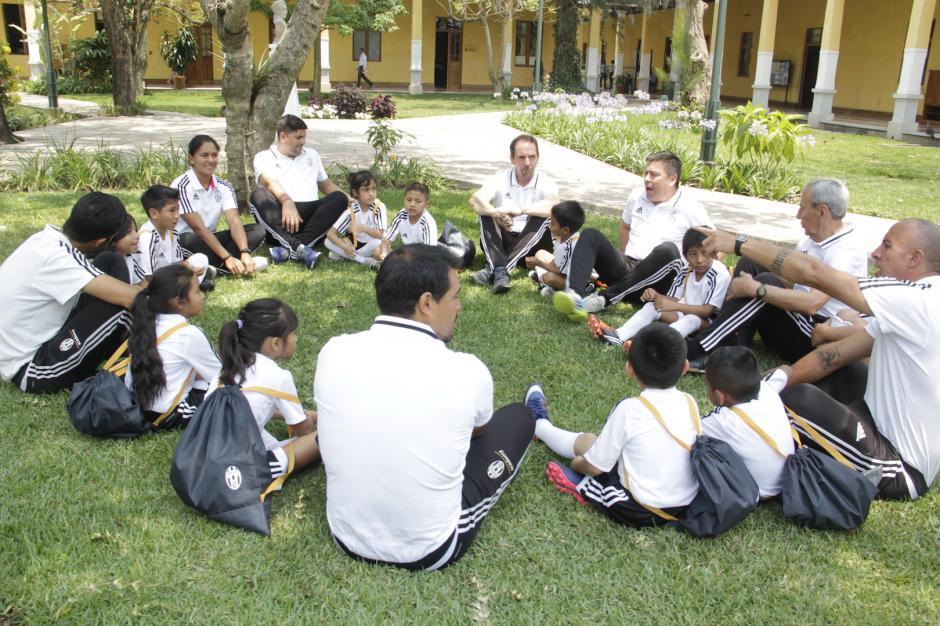 Los menores tendrán un entrenamiento especial los fines de semana. (Foto: Fredy Hernández/Soy502)