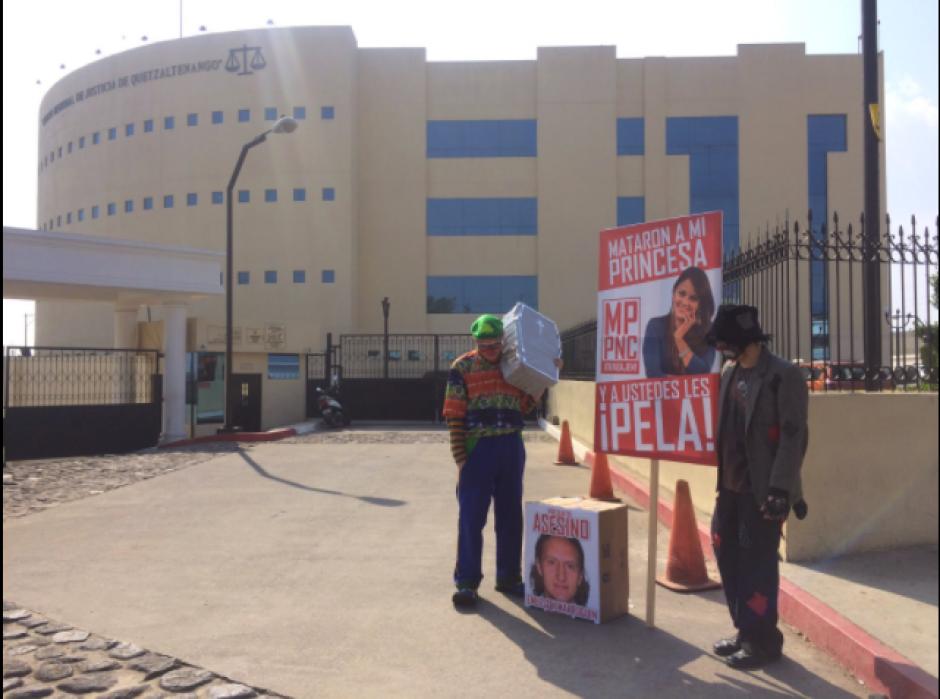 El novio de Vilma Gabriela Barrios pide justicia por el asesinato. (Foto: Shirlie Rodríguez/Stereo100)