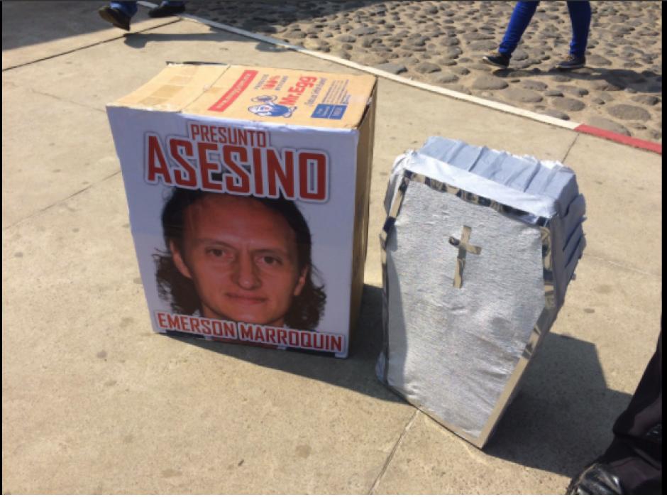 El exjugador de Xelajú MC, Emerson Marroquín, habría sido el autor del crimen. (Foto: Shirlie Rodríguez/Stereo100)