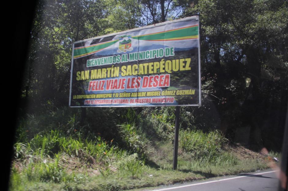 El lugar se encuentra en el municipio de San Martín Sacatepéquez, Quetzaltenango. (Foto: Fredy Hernández/Soy502)