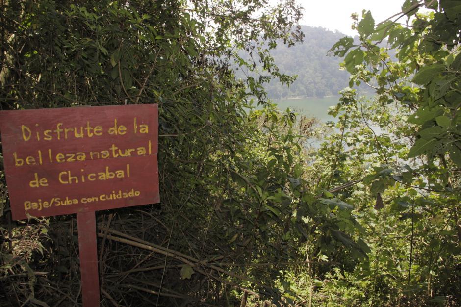 El sendero está señalizado para que no te pierdas. (Foto: Fredy Hernández/Soy502)