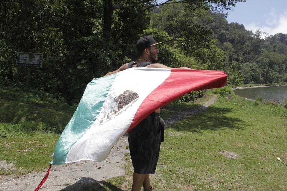 Viajó durante tres años por México y ahora quiere llegar a Sudamérica. (Foto: Fredy Hernández/Soy502)
