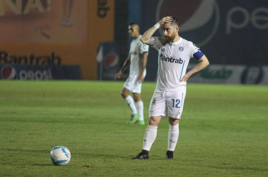El partido no tuvo mayores opciones de gol para ambos equipos. (Foto: Luis Barrios/Soy502)