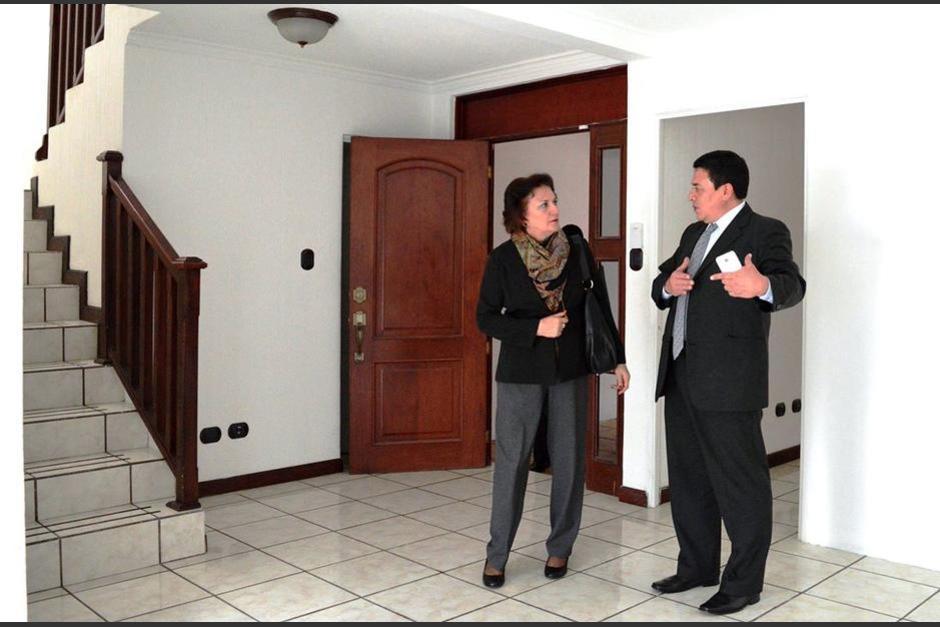 El inmueble fue inmovilizado al exsecretario privado de Roxana Baldetti, Juan Carlos Monzón. (Foto: PGN)