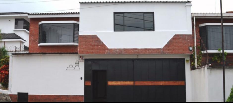 La casa que ahora será un albergue temporal para menores deportados se ubica en Colinas de San Cristóbal, Mixco. (Foto: PGN)