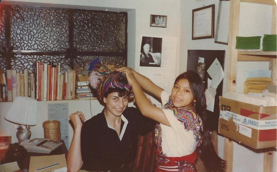 Impartió talleres donde hablaba de los textiles guatemaltecos. (Foto: Sheba Velasco)