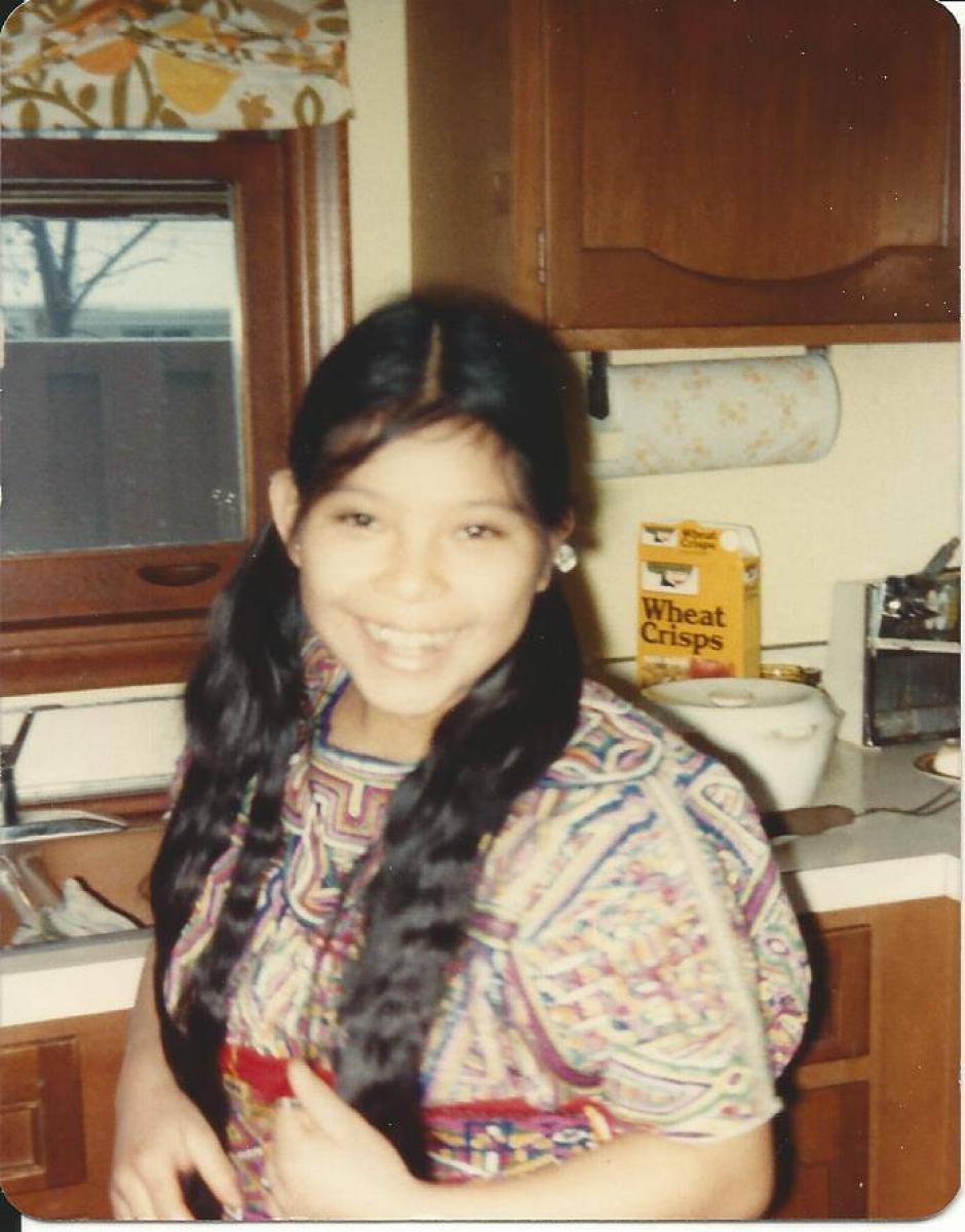 Sheba tenía 11 años cuando migró a Estados Unidos. (Foto: Sheba Velasco)