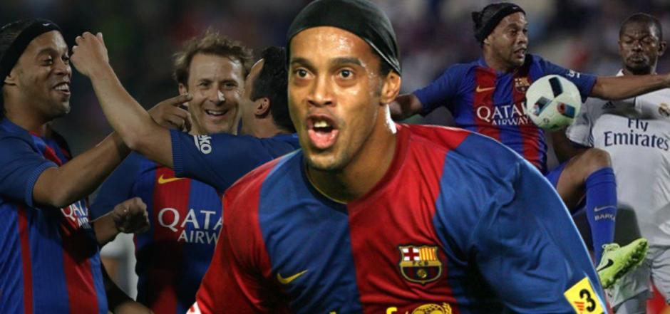 Ronalndinho está mejor que nunca en lo futbolístico. (Foto: Twitter)