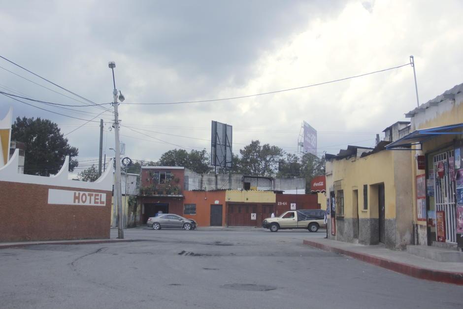Los vecinos de este sector de la zona 6 vuelven a temer por un nuevo hundimiento. (Foto: Fredy Hernández/Soy502)