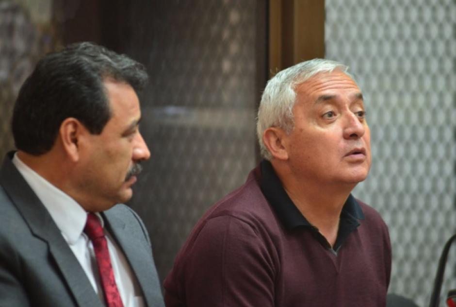 Otto Pérez Molina ha optado por no dar declaraciones a la prensa como en ocasiones anteriores solía hacerlo. (Foto: Jesús Alfonso/Soy502)