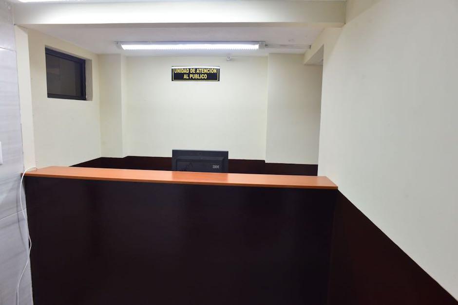 Esta es la entrada del juzgado. (Foto: Jesús Alfonso/Soy502)