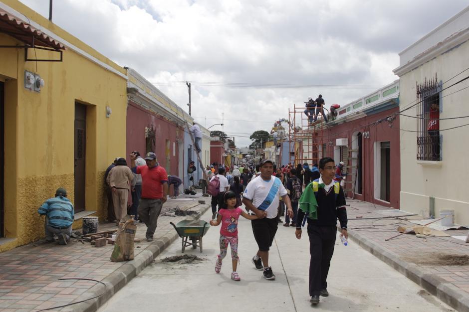 Los vecinos de este sector ven con buenos ojos la recuperación del área. (Foto: Fredy Hernández/Soy502)