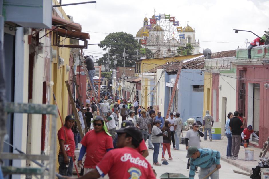 El área será una de las más atractivas del Centro Histórico de Mixco. (Foto: Fredy Hernández/Soy502)