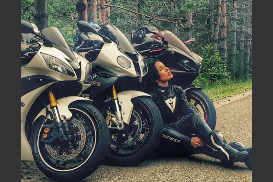 """La """"Reina de la Motos"""" muere en accidente de tránsito. (Foto: Instagram)"""