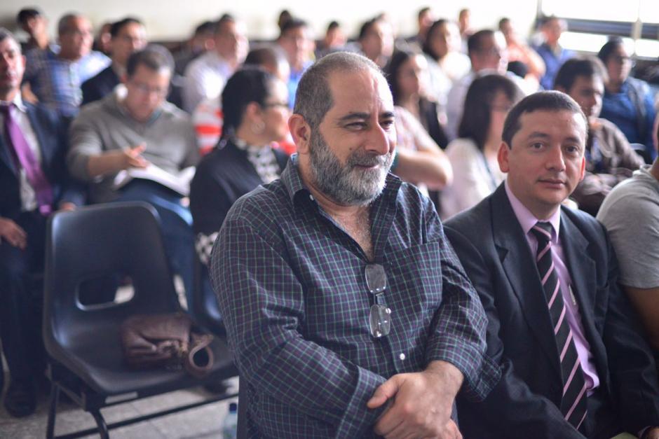 Osama Ezzat Azzis Aranki fue trasladado a Tribunales para la audiencia de etapa intermedia. (Foto: Jesús Alfonso/Soy502)