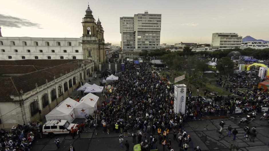 Miles de motociclistas parten desde la ciudad de Guatemala cada año. (Foto: Archivo/Soy502)