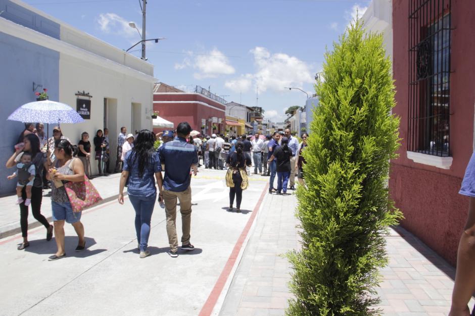 Los trabajos comprendieron la cuarta calle entre sexta y novena avenida. (Foto: Fredy Hernández/Soy502)